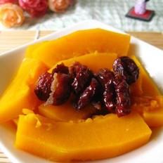 红枣蒸南瓜的做法