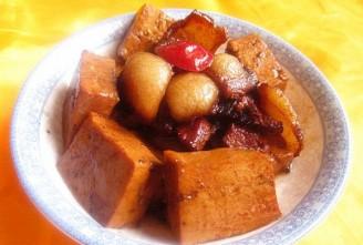 山楂豆腐红烧肉的做法
