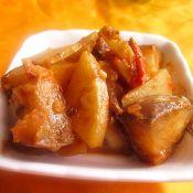 麻酱茄子土豆片的做法
