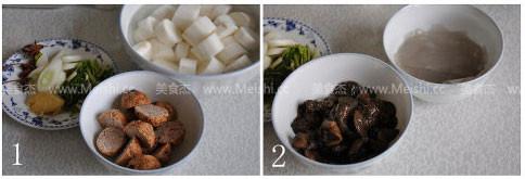 肉丸子炖山药