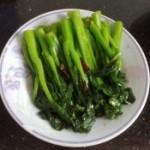 素炒油菜苔
