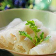 虾茸冬瓜卷的做法