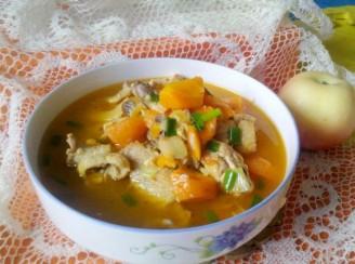 胡萝卜炖鸡的做法