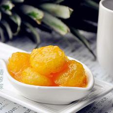 酸甜菠萝球的做法