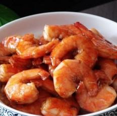 糖醋基围虾的做法