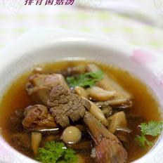 排骨菌菇汤