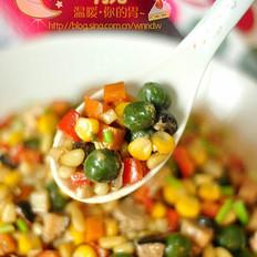 炒菠菜疙瘩的做法