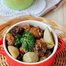 芋艿酒酿炖鸡的做法