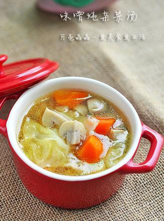 对抗秋凉的一款治愈系暖汤 味噌炖杂菜汤 - 浓情巧克力 - 美衣 美食 唯美