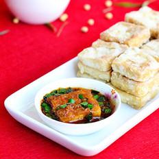 脆皮蘸水豆腐的做法
