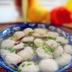 鱼丸香菇丝羹的做法