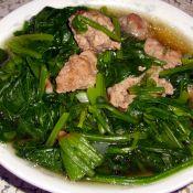 菠菜牛王丸汤的做法