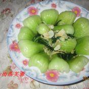 虾皮油菜的做法