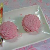 栗蓉紫薯冰皮月饼的做法