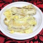 香蕉煎蛋的做法