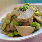 毛豆烧芋艿的做法