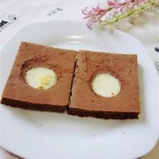 巧克力斑点蛋糕的做法