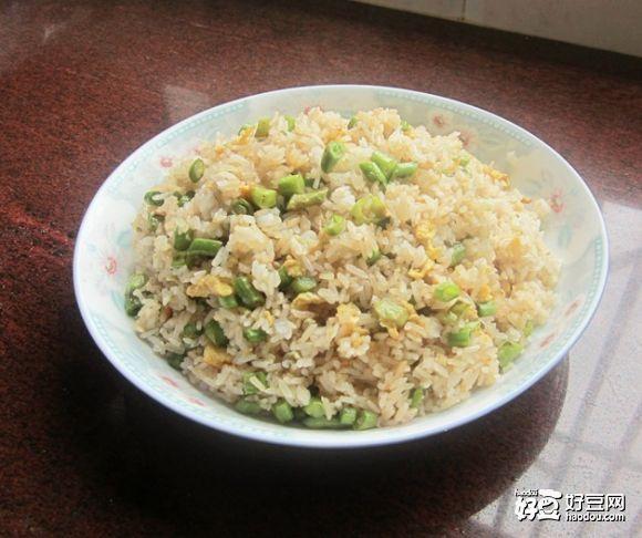 豆角炒饭的做法 菜谱
