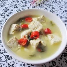 酸菜豆腐的做法
