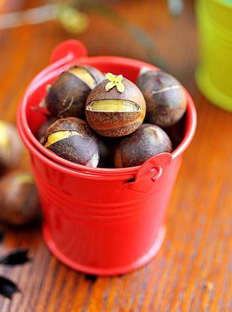 零厨艺也能轻松做出桂花蒸板栗 - 浓情巧克力 - 美衣 美食 唯美
