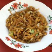 黄豆炒榨菜丝的做法
