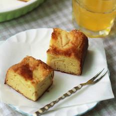 苹果蛋糕布丁的做法