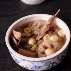 鹌鹑莲藕汤的做法