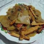素鸡炒土豆片的做法
