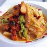 素雞炒白菜的做法