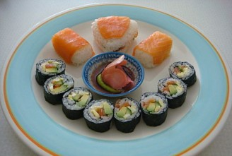 手卷寿司的做法