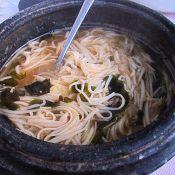 石锅酱汤面的做法