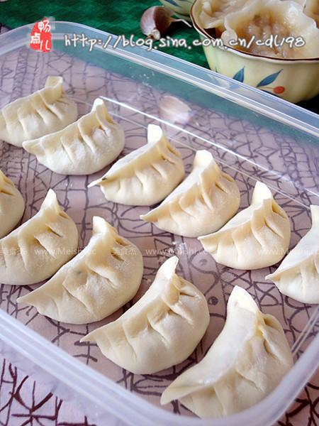 水饺制作步骤图