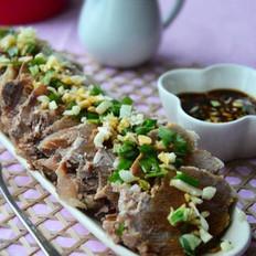 牛肉原湯&蒜泥牛肉的做法