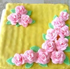 翻糖蛋糕的做法
