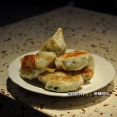 脆藕煎饺的做法