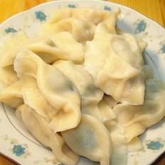 葱香猪肉水饺