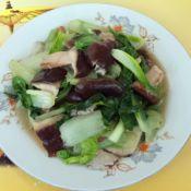 香菇炒快菜的做法