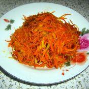 胡萝卜丝炒肉丝的做法