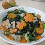 木耳菜炒肉