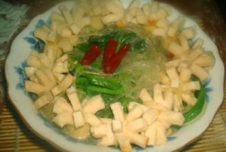 小白菜鱼丸炖粉条的做法