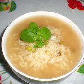 绿豆薄荷粥的做法