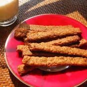 香蕉燕麦饼干