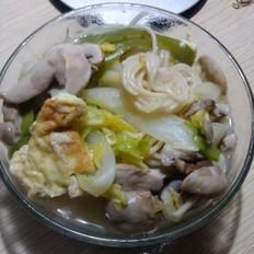 杂菜蘑菇汤