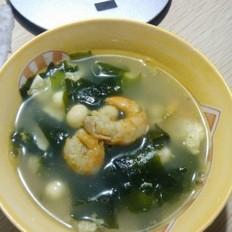海米鸡头米蛋汤