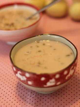 绿豆奶粥的做法