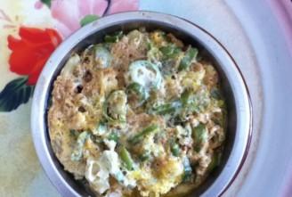 东北鸡蛋辣椒蒸酱的做法