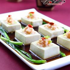 鲜虾酿豆腐