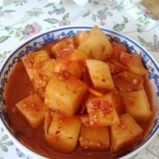 萝卜块泡菜的做法