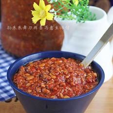 鲜肉辣椒酱的做法