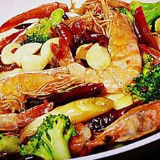 四川盆盆虾的做法